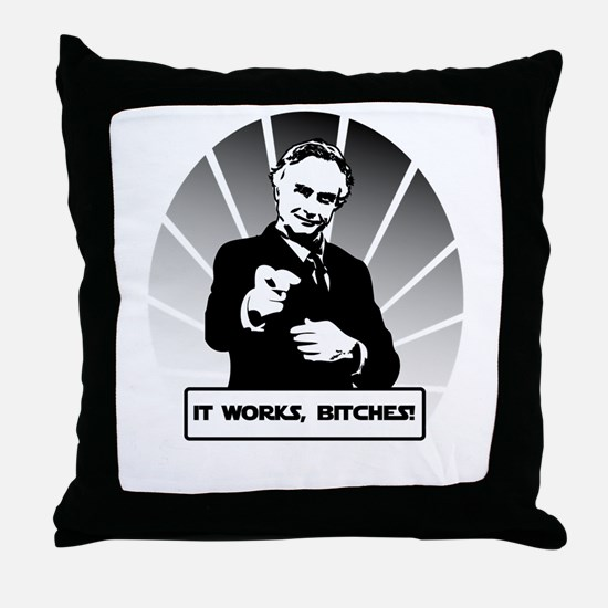 Science works Throw Pillow