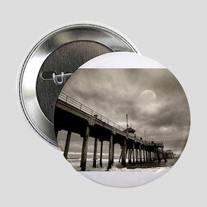 "Huntington Beach surf by night 2.25"" Button"
