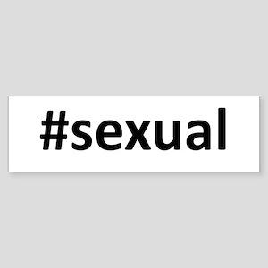 Hashtag #Sexual Sticker (Bumper)