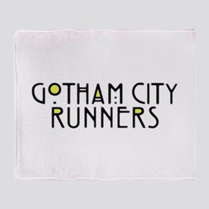 Gotham City Runners Throw Blanket