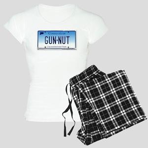 Connecticut Gun Nut License Plate Pajamas