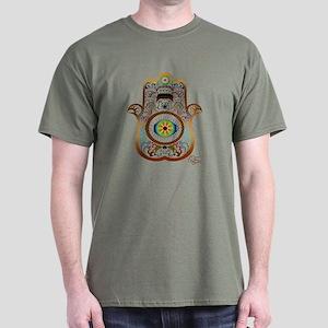 Hamsa/Copper Dark T-Shirt