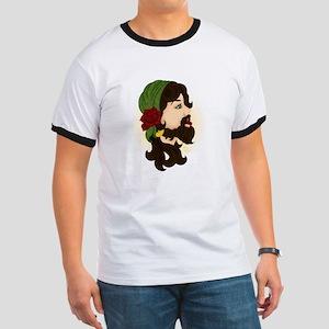 Bearded Lady Ringer T