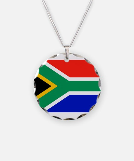 Flag of South Africa Necklace