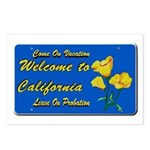 Welcome to California Postcards (Package of 8)