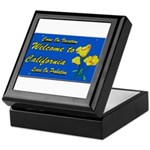Welcome to California Keepsake Box