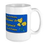 Welcome to California Mug