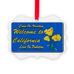Welcome to California Ornament