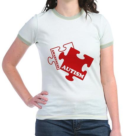 Autism Awareness Jr. Ringer T-Shirt