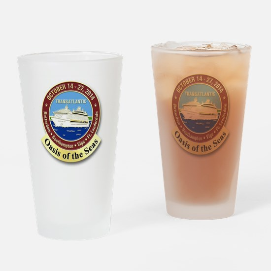 Cute Oasis of the seas Drinking Glass