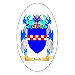 Boyd Sticker (Oval 50 pk)