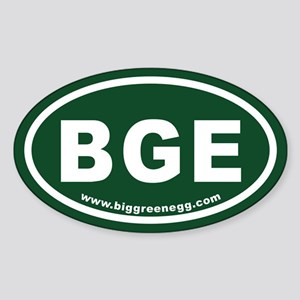 BGE Oval Oval Sticker (10 pk) Sticker