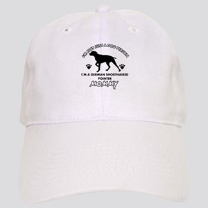 German Shorthared dog breed designs Cap