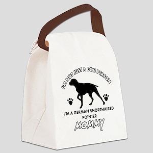 German Shorthared dog breed designs Canvas Lunch B