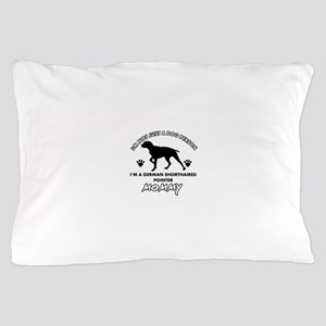 German Shorthared dog breed designs Pillow Case