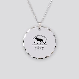 German Shorthared dog breed designs Necklace Circl