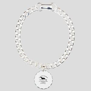 German Shorthared dog breed designs Charm Bracelet