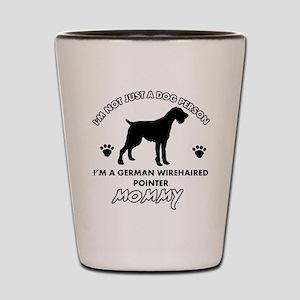 German Wirehaired Pointer dog breed designs Shot G