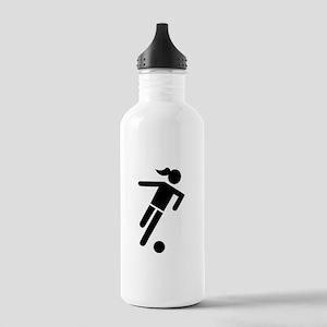 Women soccer Stainless Water Bottle 1.0L