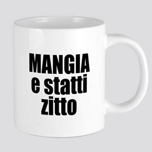 Mangia e Statti Zitto Stainless Steel Travel Mugs