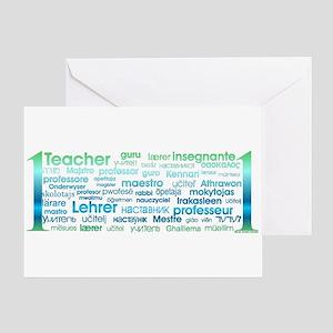 Esl greeting cards cafepress 1 teacher greeting card reheart Gallery