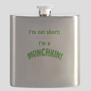 Im not short; Im a MUNCHKIN! Flask