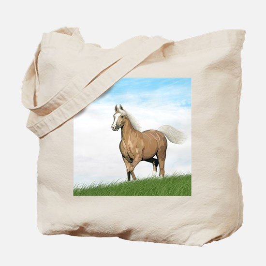 Unique Mustang pony Tote Bag