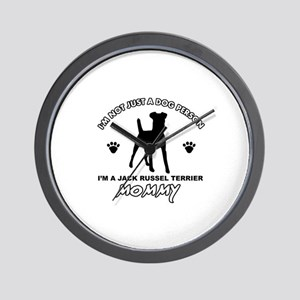 Jack Russell Terrier dog breed designs Wall Clock