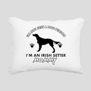 Irish Setter dog breed design Rectangular Canvas P