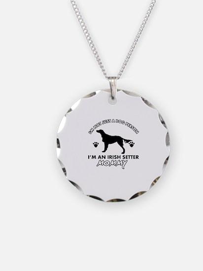 Irish Setter dog breed design Necklace