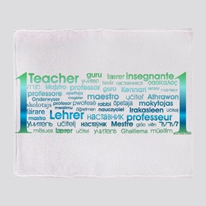 # 1 Teacher Throw Blanket