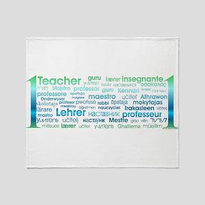 # 1 Teacher Throw Blanket