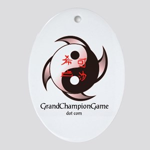 Grand Championc Oval Ornament