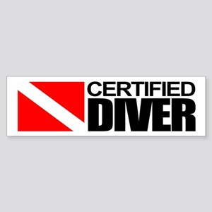 Certified Diver Bumper Sticker