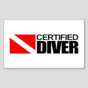 Certified Diver Sticker