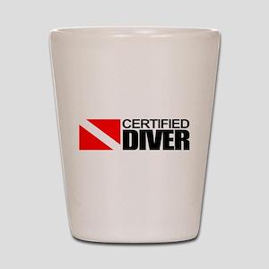 Certified Diver Shot Glass