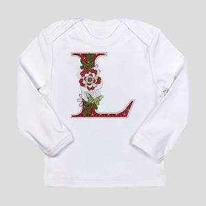 Monogram Letter L Long Sleeve T-Shirt