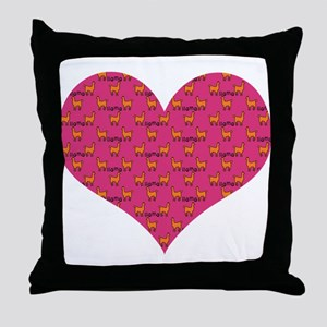 LLAMAS Throw Pillow