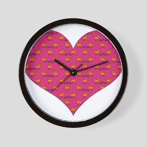LLAMAS Wall Clock