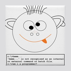 Programmer Tile Coaster