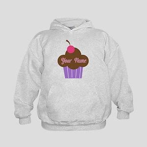 Personalized Cupcake Kids Hoodie