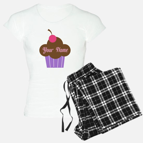 Personalized Cupcake pajamas