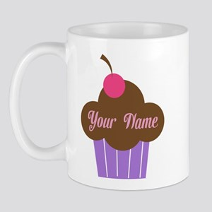 Personalized Cupcake Mug