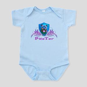 PitsTer, A Pit Bull Dog Lover Infant Bodysuit