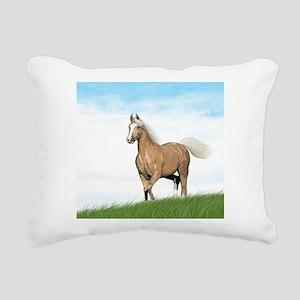 Cloud Palomino Rectangular Canvas Pillow