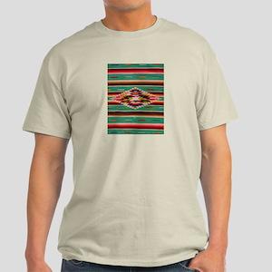 Southwest Indian Weaving Light T-Shirt