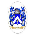 Bowle Sticker (Oval 50 pk)