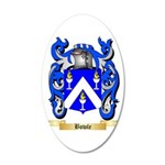 Bowle 20x12 Oval Wall Decal