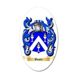 Bowle 35x21 Oval Wall Decal