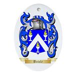 Bowle Ornament (Oval)